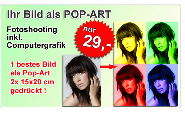Pop-Art Fotografie